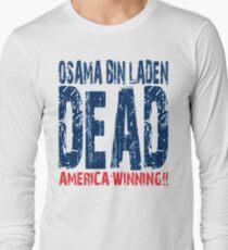 Osama is Dead - Light Long Sleeve T-Shirt