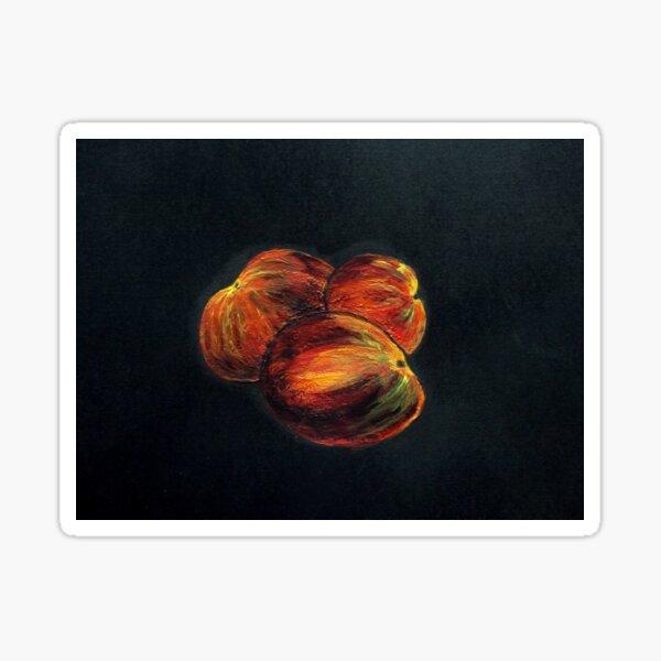 Peach Treble Sticker