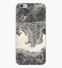 Vinilo o funda para iPhone Mapa de Hong Kong