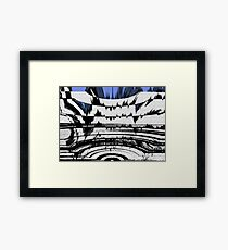 Olympics Abstract Framed Print