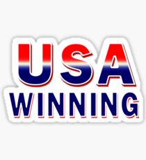 USA Winning Sticker