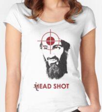 Head Shot ver. 2 Women's Fitted Scoop T-Shirt