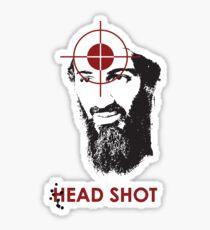 Head Shot ver. 2 (Hoodie) Sticker