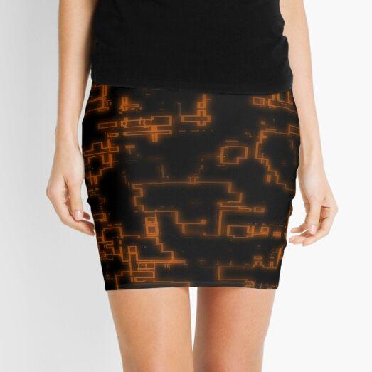 DiscoCamo 06 Mini Skirt