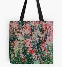 Oriental Brush Work Tote Bag