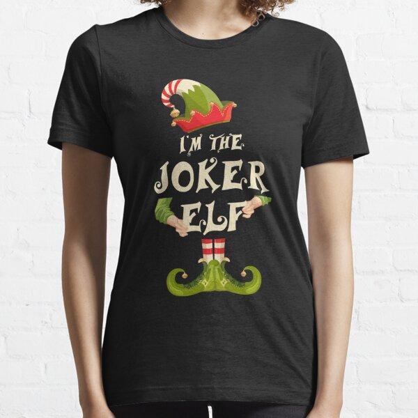 Joker Carte Unisexe T-Shirt-films anniversaires noël cinema halloween Thriller
