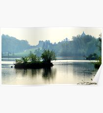 The Mist & The Island ~ Castle Howard Poster
