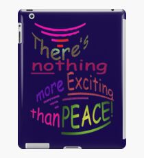 Exciting PEACE iPad Case/Skin