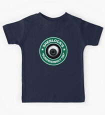 Sherlock's Coffee - Surprisingly OK! Kids Tee