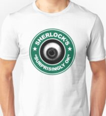 Sherlock's Coffee - Surprisingly OK! T-Shirt