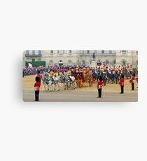 UK, England, London, Horse Guards Parade, Royal Wedding Canvas Print