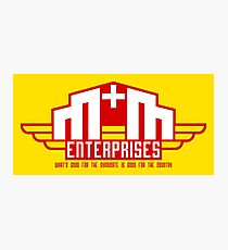 M&M Enterprises (Wings) Photographic Print