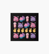 Cute Candy Poo Emoji JoyPixels So Yummy Art Board Print