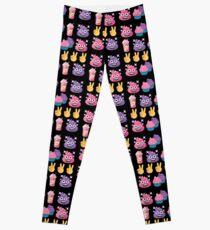 Cute Candy Poo Emoji JoyPixels So Yummy Leggings