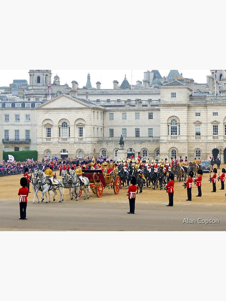UK, England, London, Horse Guards Parade, Royal Wedding by AlanCopson