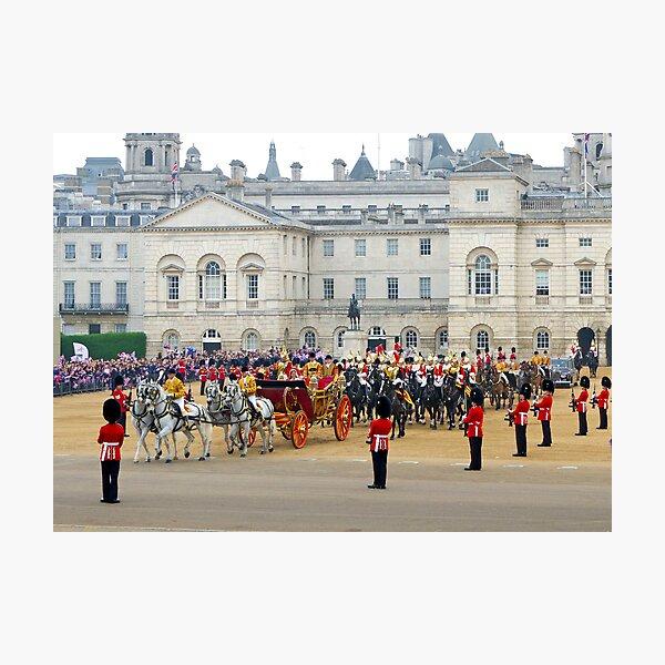 UK, England, London, Horse Guards Parade, Royal Wedding Photographic Print