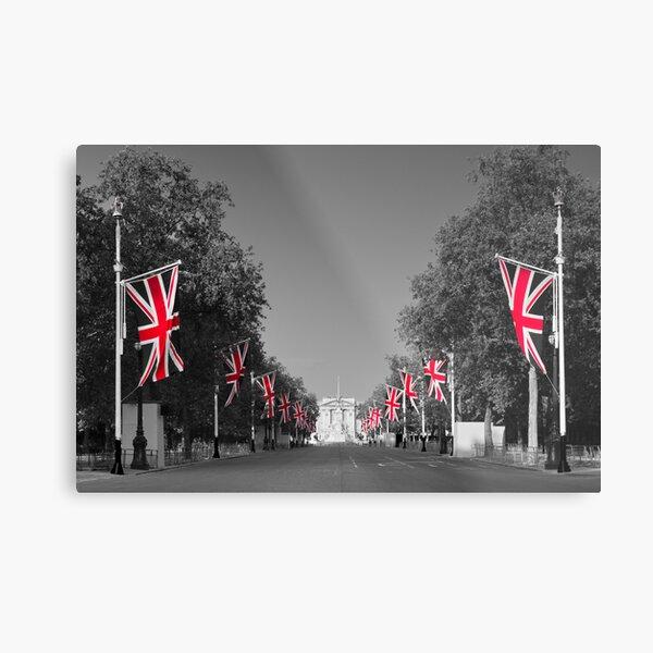 UK, England, London, Buckingham Palace, Royal Wedding Metal Print