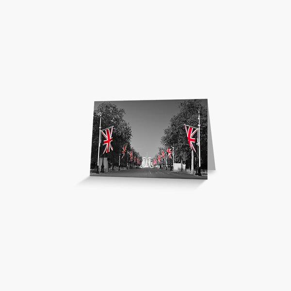 UK, England, London, Buckingham Palace, Royal Wedding Greeting Card