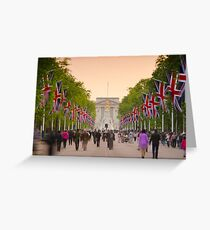 UK, England, London, Buckingham Palace, Royal Wedding Greeting Card