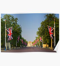UK, England, London, Buckingham Palace, Royal Wedding Poster