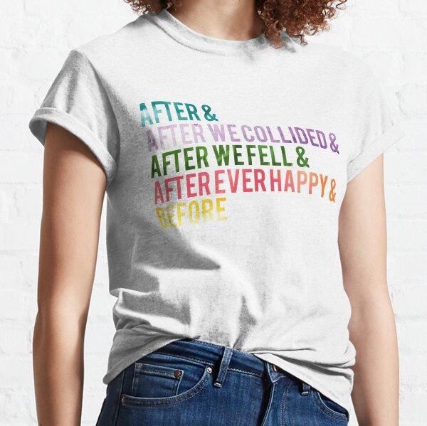 Les titres T-shirt classique