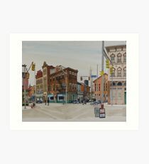Carson Street & S.12th Street, South Side, Pittsburgh Art Print