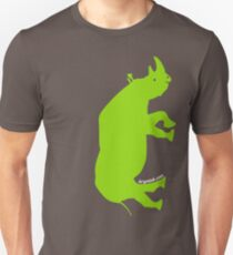 Upright Rhinoceros Unisex T-Shirt