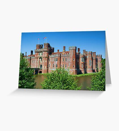 Herstmonceux Castle Greeting Card