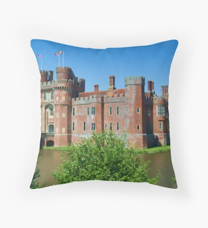 Herstmonceux Castle Throw Pillow