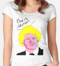 Boris Johnson Women's Fitted Scoop T-Shirt