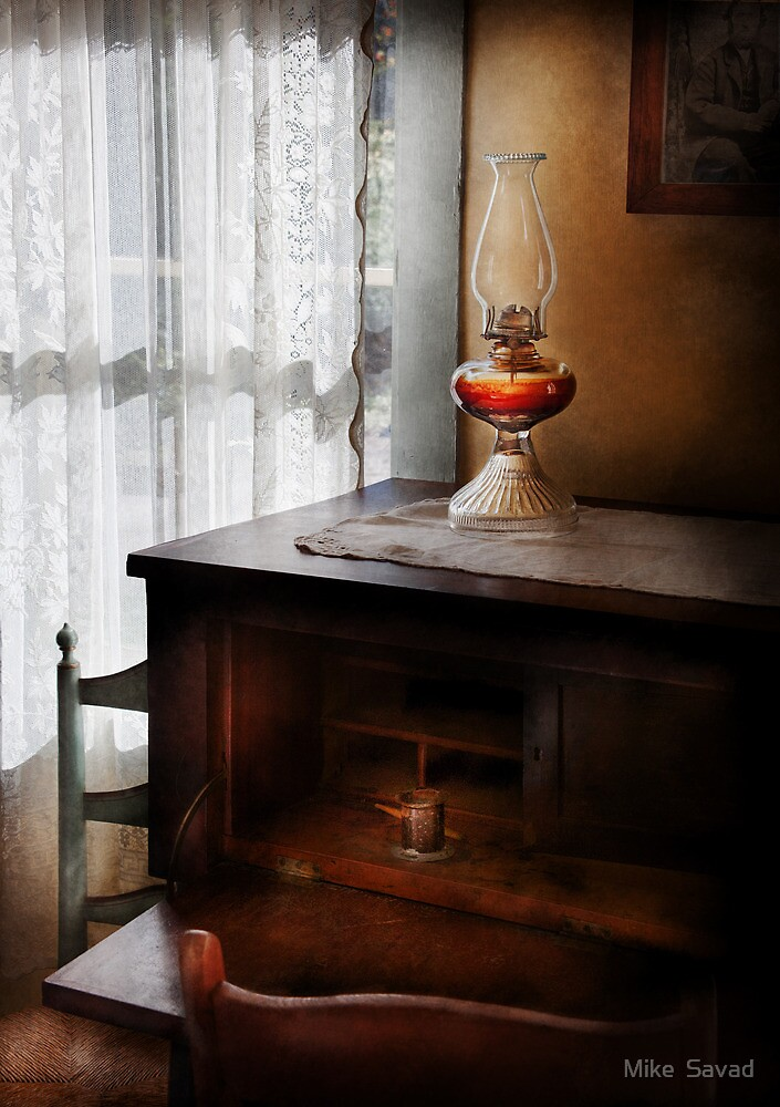 Lamp - I used to write letters  by Michael Savad