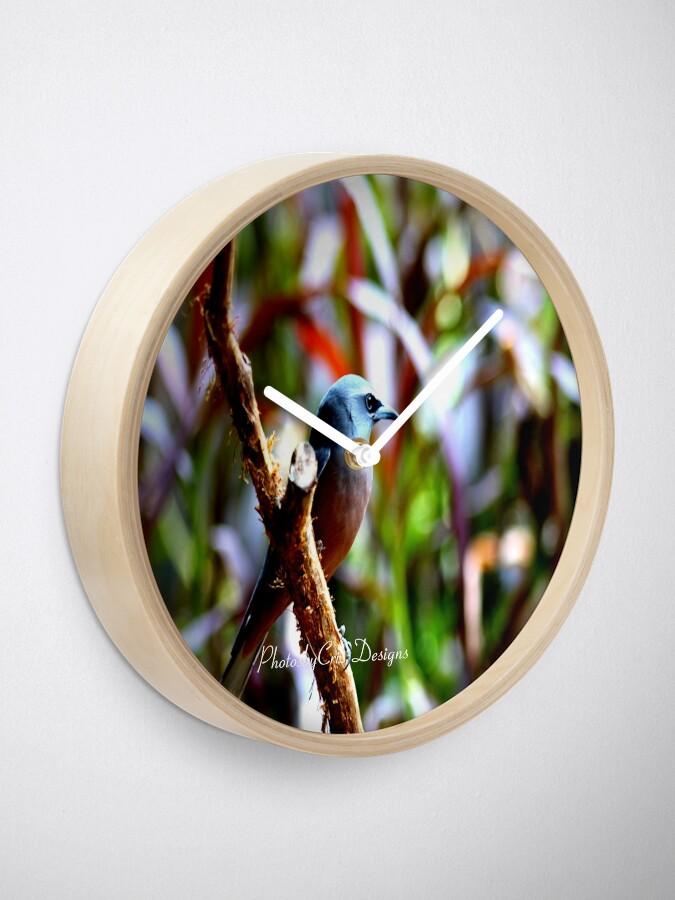 Alternate view of Bird of Colours Clock
