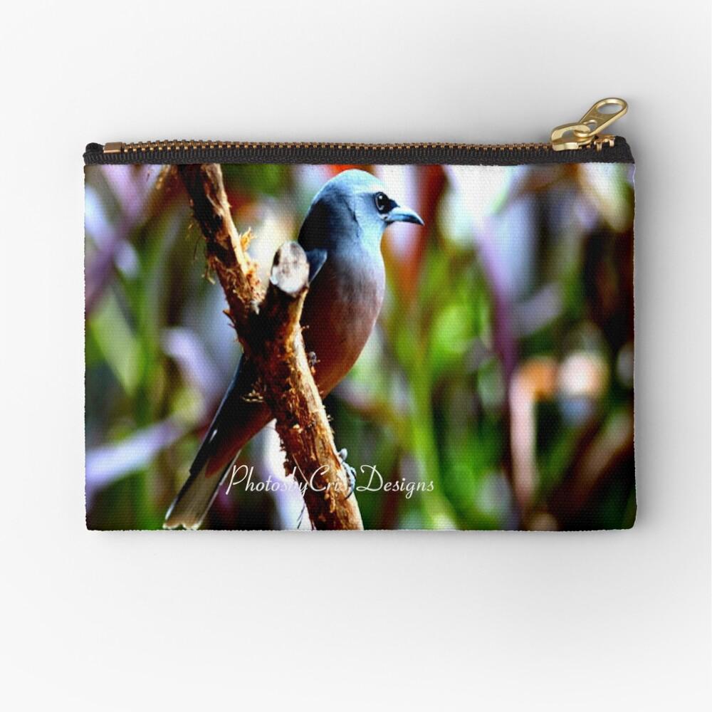 Bird of Colours Zipper Pouch