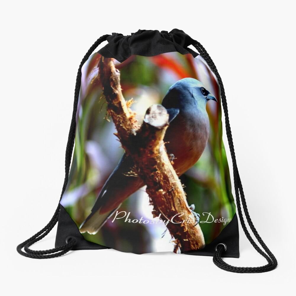 Bird of Colours Drawstring Bag
