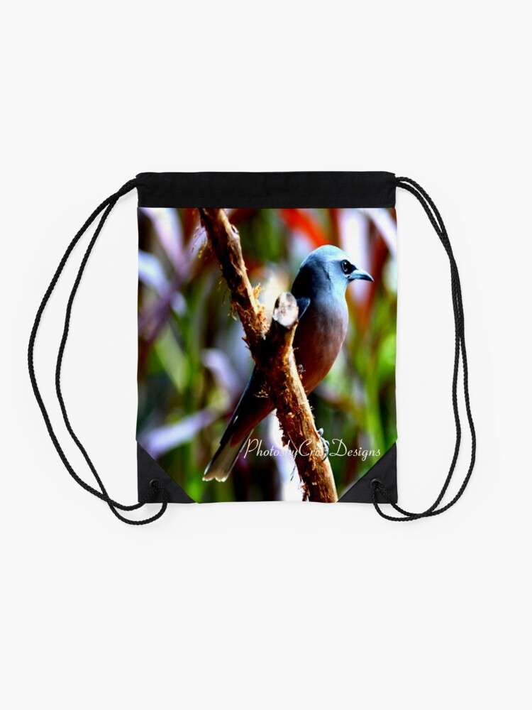Alternate view of Bird of Colours Drawstring Bag