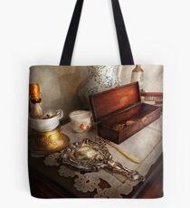 Barber - The morning ritual Tote Bag