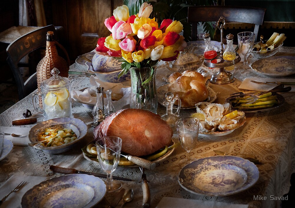 Chef - Easter Dinner by Michael Savad