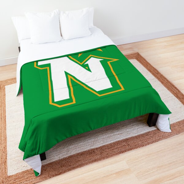 Vintage Minnesota Hockey - Retro North Stars Comforter