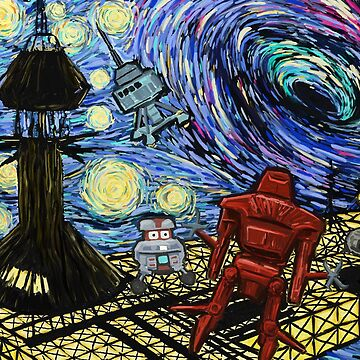 Van Gogh- The Black Hole  by comicbookjer
