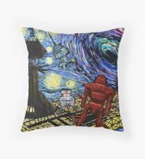 Van Gogh- The Black Hole  Throw Pillow