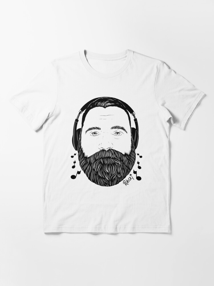 Alternate view of Music bear Rees light tee Essential T-Shirt