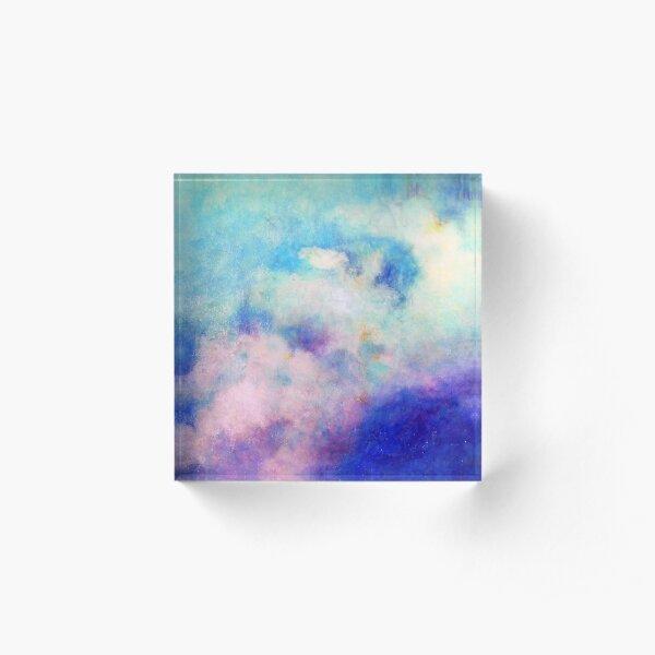On Cloud Nine Acrylic Block