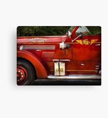 Fireman - Garwood Fire Dept Canvas Print