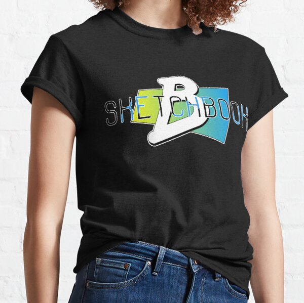 Sketchbook B Stacked by Brent Florica Classic T-Shirt