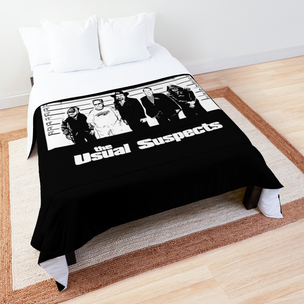 The Usual Poker Suspects Comforter