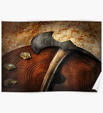 Fireman - The fire axe  Poster