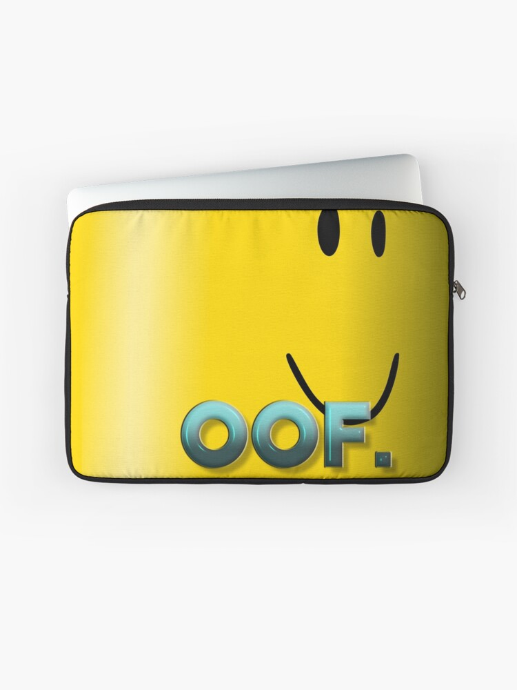 Oof Wars Roblox Oof Roblox Laptop Sleeve By Poppygarden Redbubble