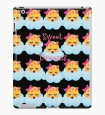 Sweet Dreams Emoji JoyPixels Good Night My Love iPad Case/Skin