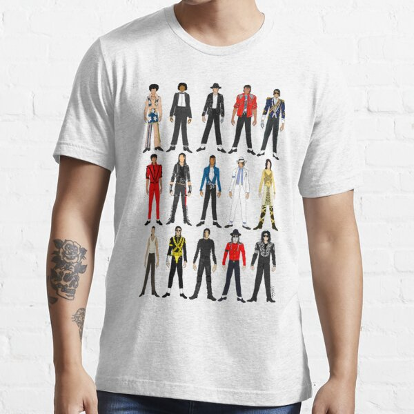 Outfits of King Jackson Pop Music Fashion Essential T-Shirt