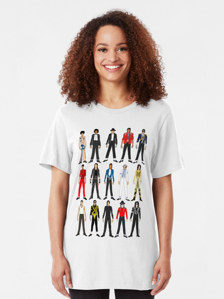 Alternate view of Outfits of King Jackson Pop Music Fashion Slim Fit T-Shirt